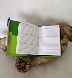 Agendahülle / grün, Frog