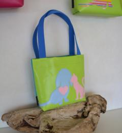 KinderShopper, neon türkis